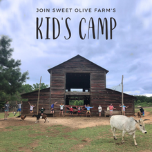 Load image into Gallery viewer, FULL :: Kid's Farm Camp :: June 14 - 18 : 9a-3p