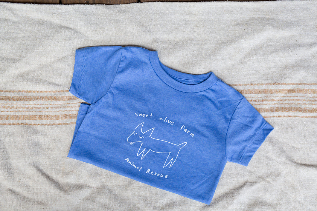 Blue Blend - Dog Logo - Youth