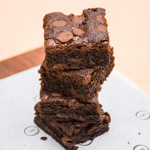 Brownies de triple chocolate 4pz - Bottegashop.mx