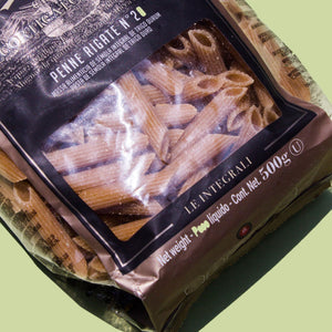 Penne Rigate Integral 500g - Bottegashop.mx