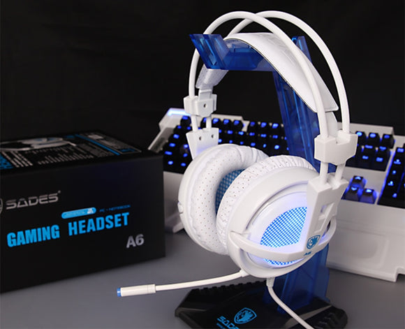 Professional Stereo Gaming Headset (LED Glowing Gaming Headphones With Microphone) - OneDealBox