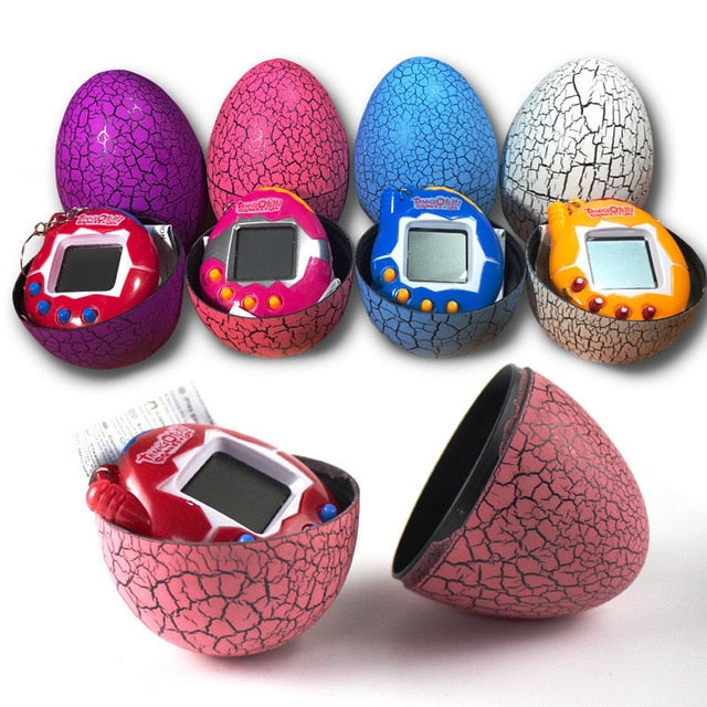 Mini Electronic Virtual Pet Device With A Dinosaur's Egg Shell Case - OneDealBox