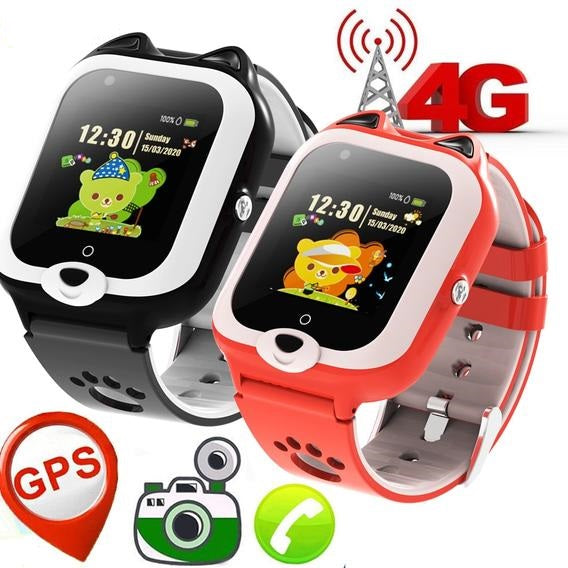 4G Mobile Smart Watch With SIM Support and Video Call (IPX7 Waterproof) - OneDealBox