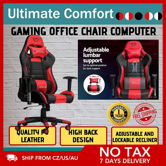 Best Gaming Office Chair (Made From High Quality PU Leather) - OneDealBox