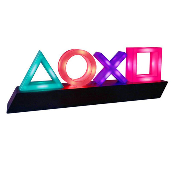 Voice Controlled Collectible Decorative Gaming Neon Lamp
