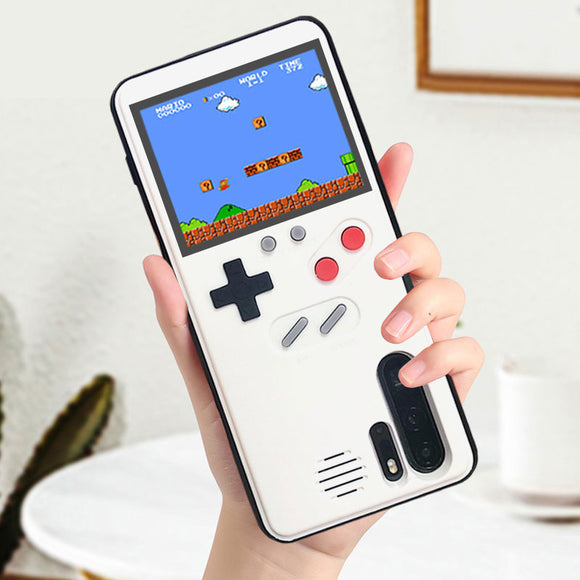 Retro Game Console Phone Case For Huawei / Samsung / iPhone (36 Built-in Games + Lithium Battery) - OneDealBox