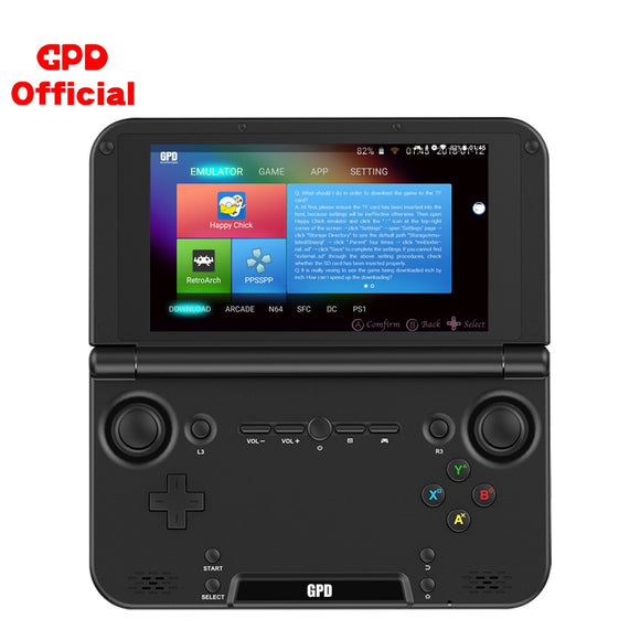 Android Handheld Game Console GPD XD Plus With 5.0 Inch Touch Screen / Hexa-Core 2.1GHz CPU MTK 8176 / 4GB RAM And Retro Emulators - OneDealBox