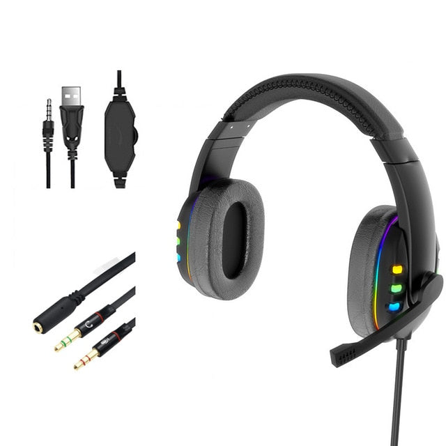 Gaming Headset (Headphones With Microphone) - OneDealBox