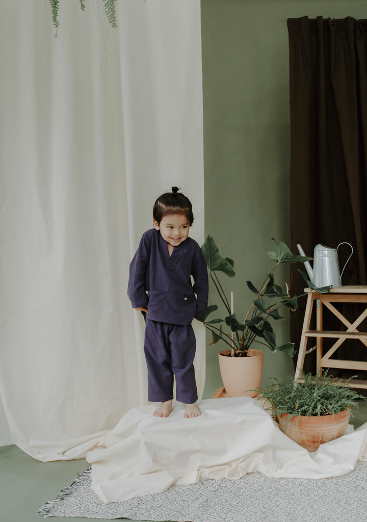 Maya Boys Set | Midnight Blue