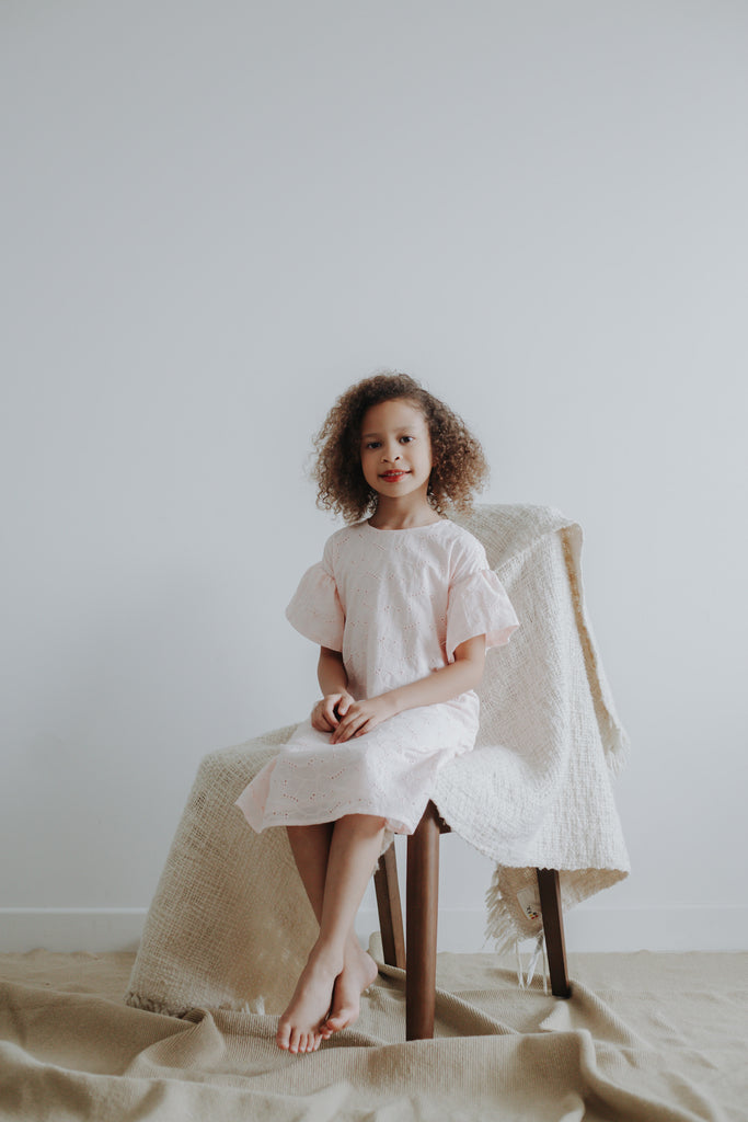 Diana Dress | Blush Pink