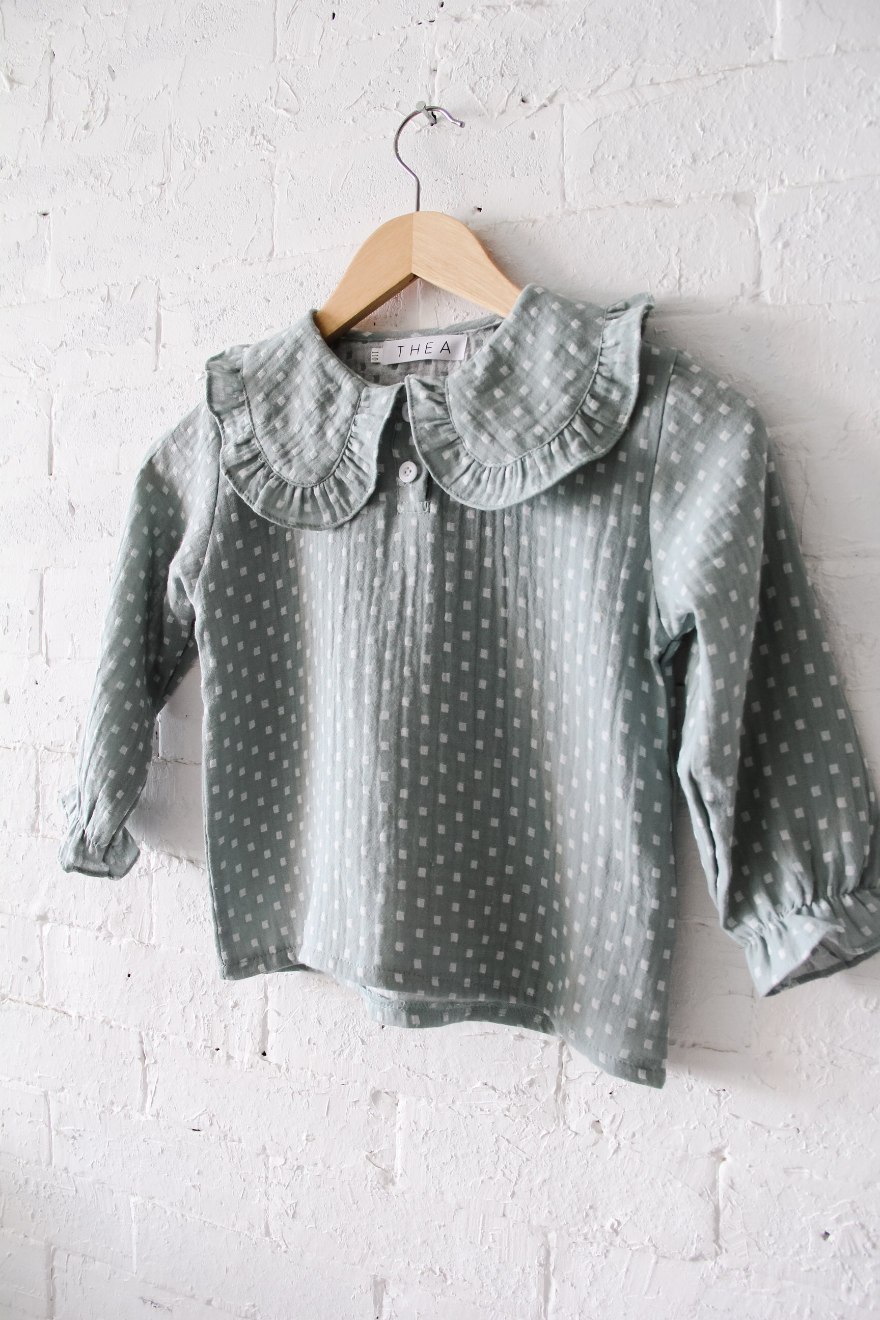 Luna Blouse | Mint