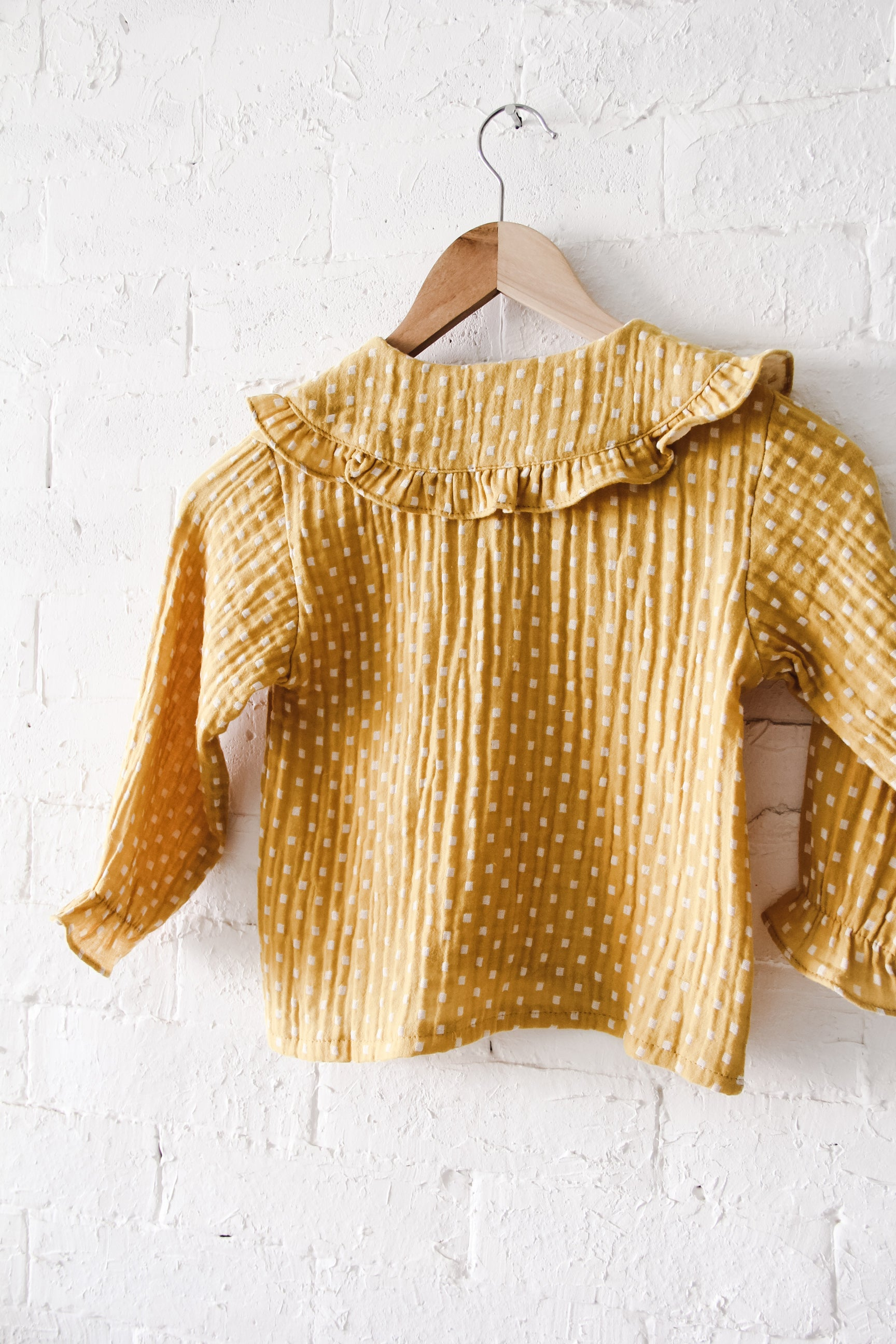 Luna Blouse | Yellow