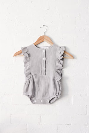 Elena Bodysuit | Grey