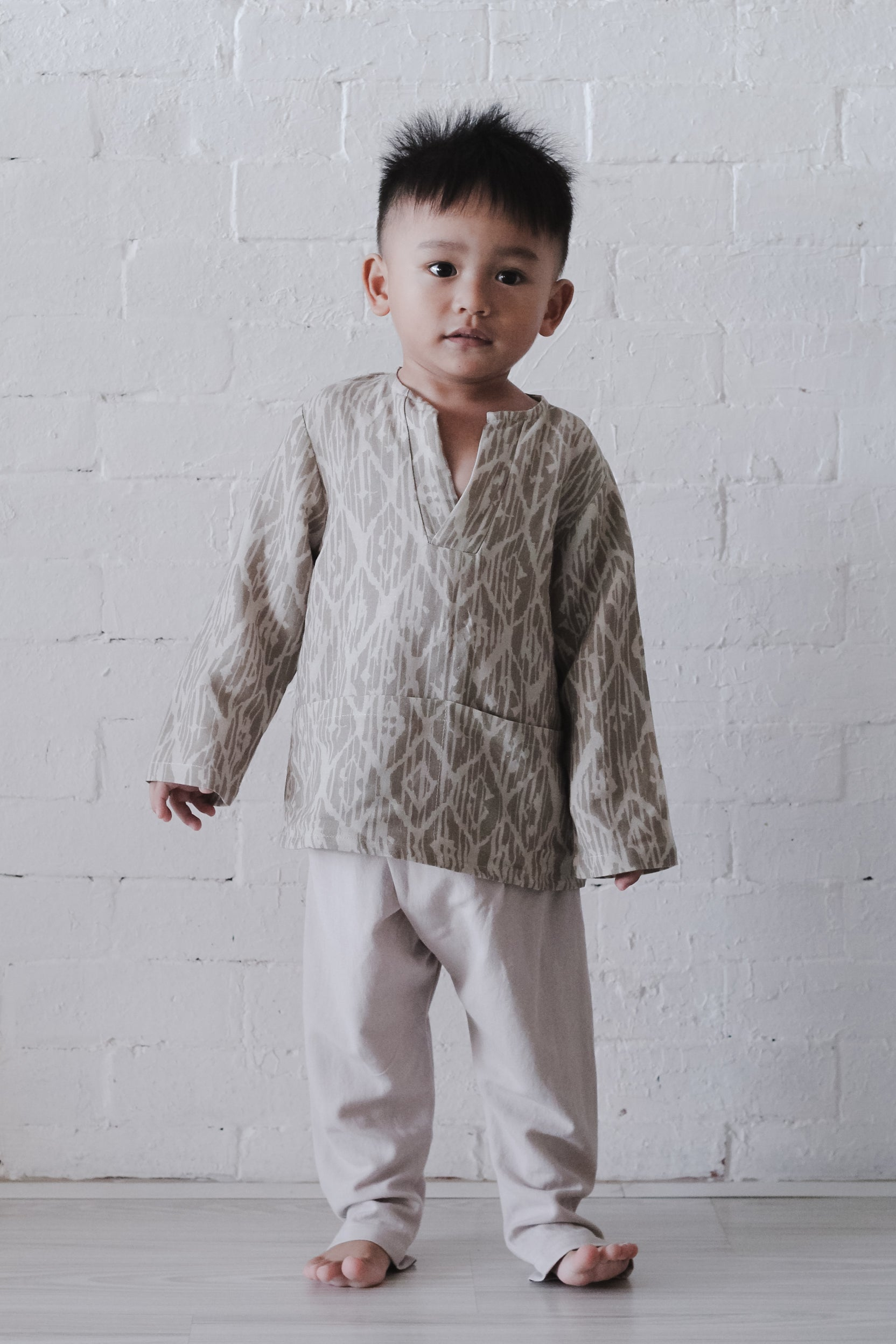 Namib Boys Set | Taupe
