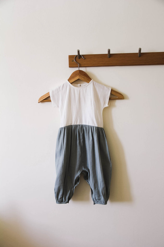 Murray Romper - Faded Mint