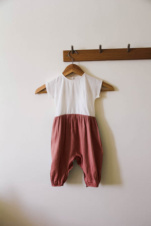 Murray Romper - Autumn Tan