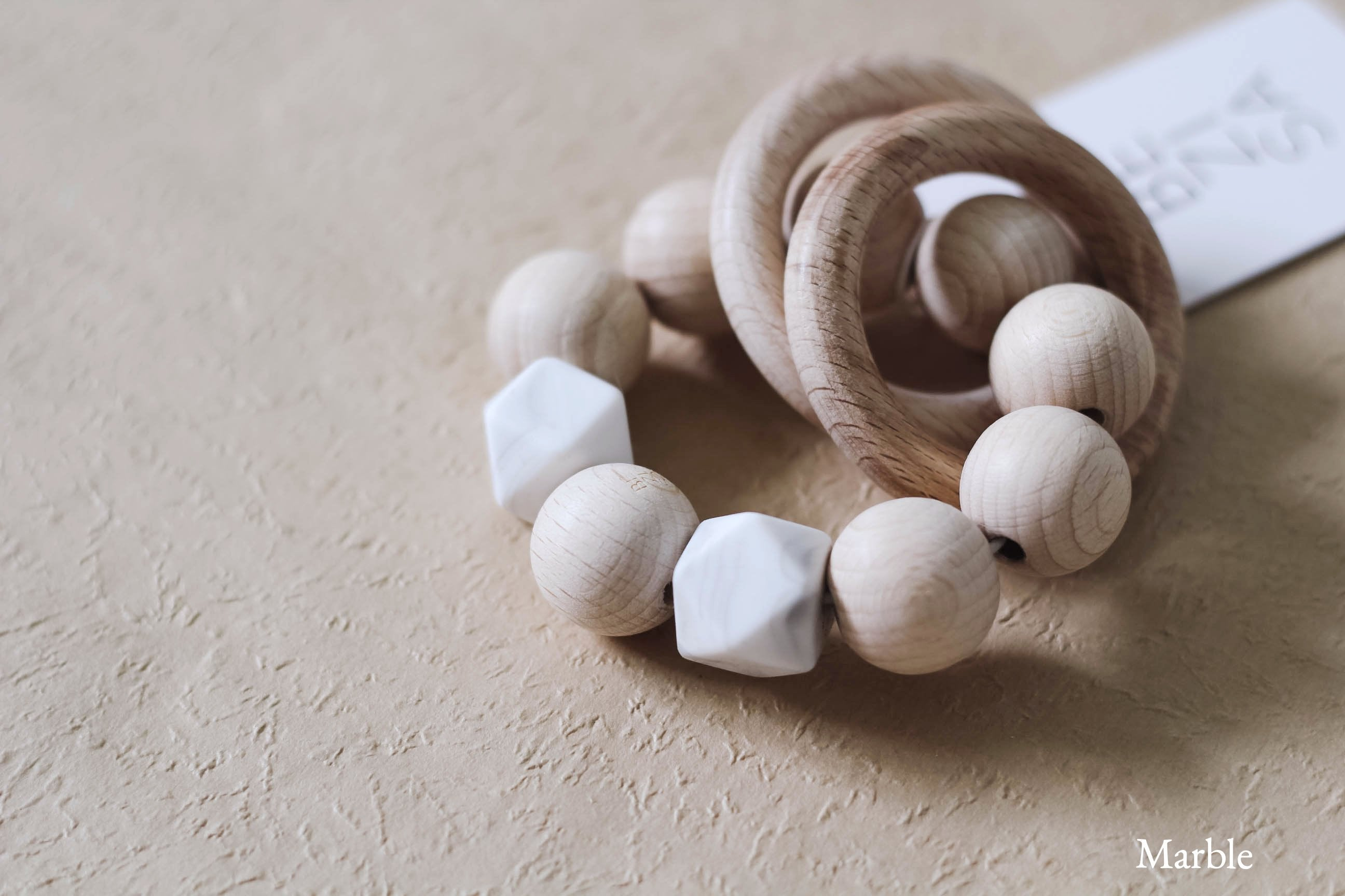Wooden Basics Rattle