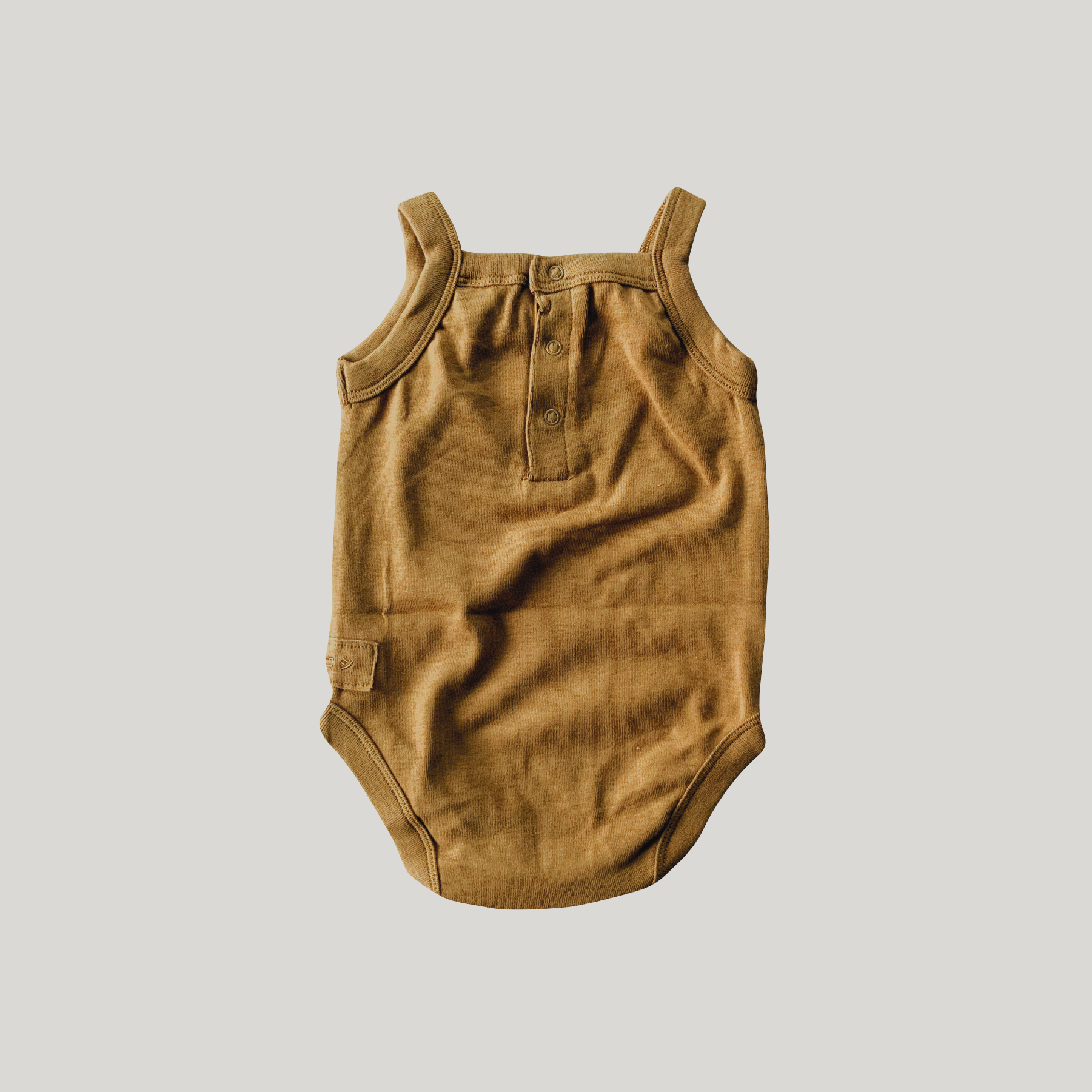 Tank Top Suit | Antique Brass