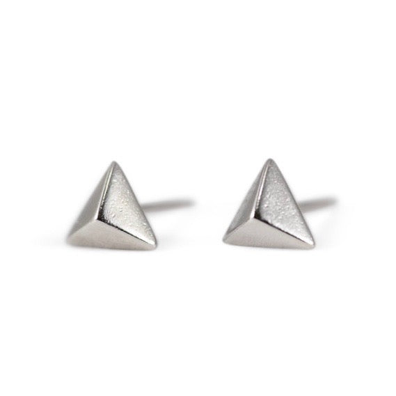 Anata Sterling Silver Stud Earrings in Silver