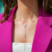 Angelica Sterling Silver Necklace in Silver