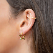 Rusa Ear Cuff in Gold
