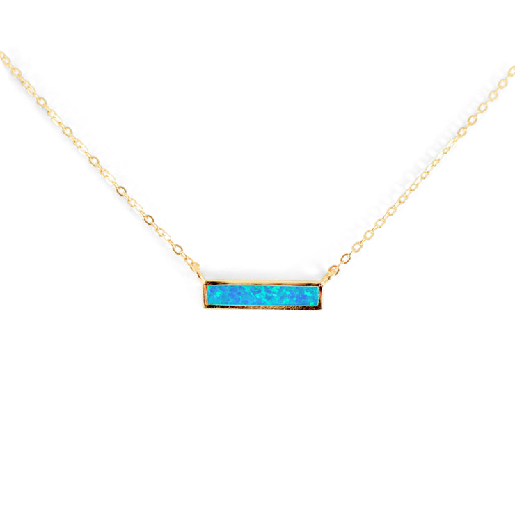 Caity Sterling Silver Necklace in Gold