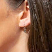Inna Cross Sterling Silver Earrings