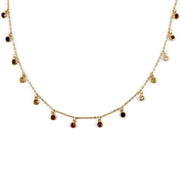 Rachel Sterling Silver Necklace in Gold