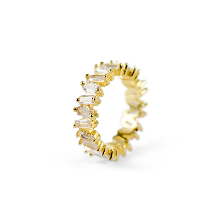 Saryo Sterling Silver Ring in Gold