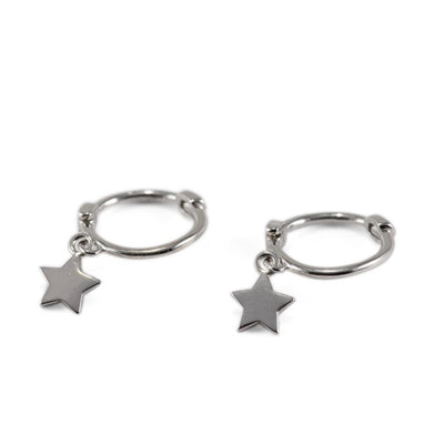 Ulka Sterling Silver Earrings