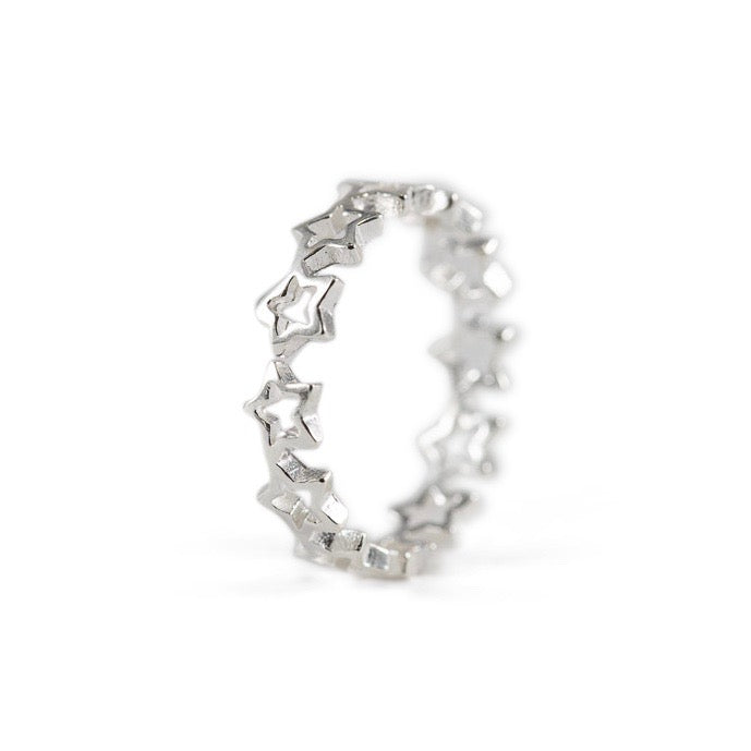 Zea Sterling Silver Ring