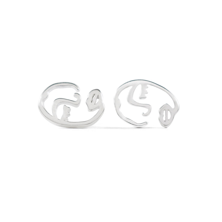 Fili Sterling Silver Earrings