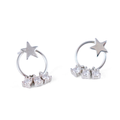 Flic Sterling Silver Earrings