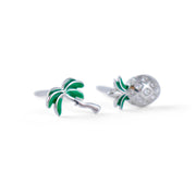 Miami Sterling Silver Earrings