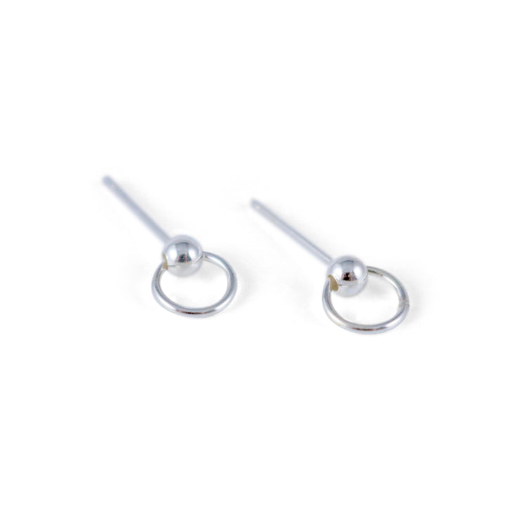 Rina Sterling Silver Earrings