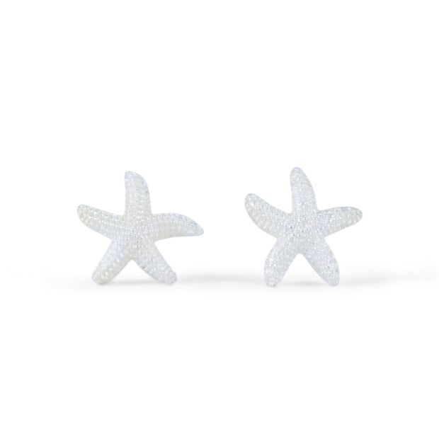 Starfish Sterling Silver Earrings