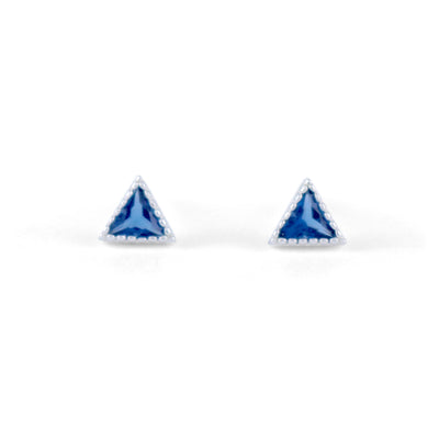 Tria Sterling Silver Earrings