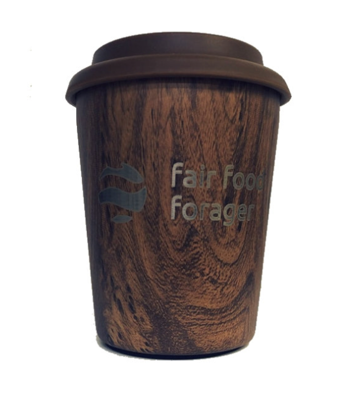 Coffee nut 10oz wood grain