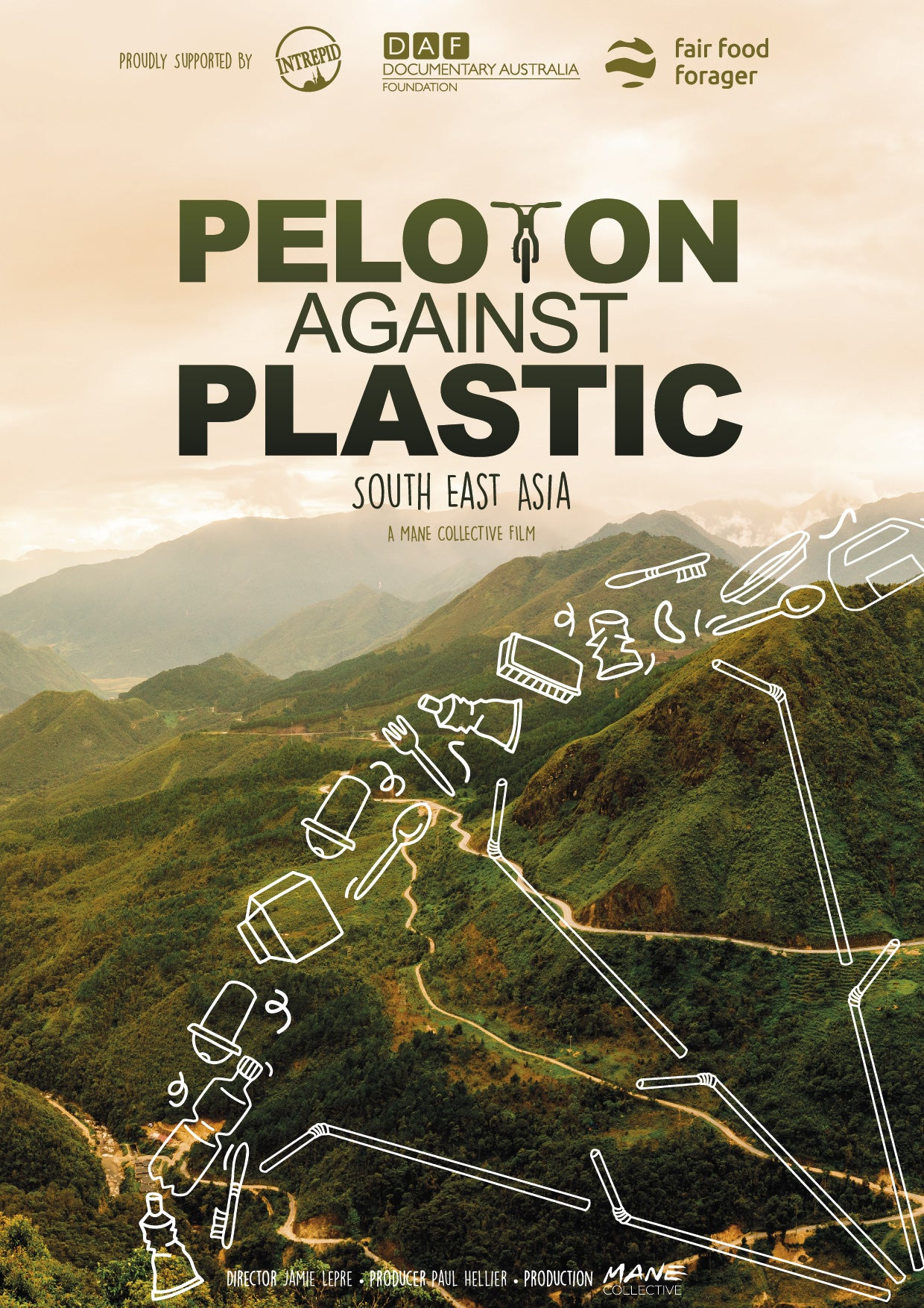 Peloton Against Plastic public screening license