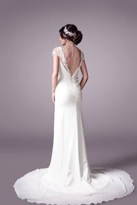 Courtesy wedding dress bridal gown Perth - 9301B