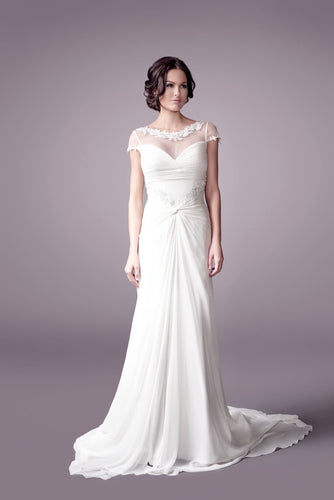 Courtesy wedding dress bridal gown Perth - 9301F