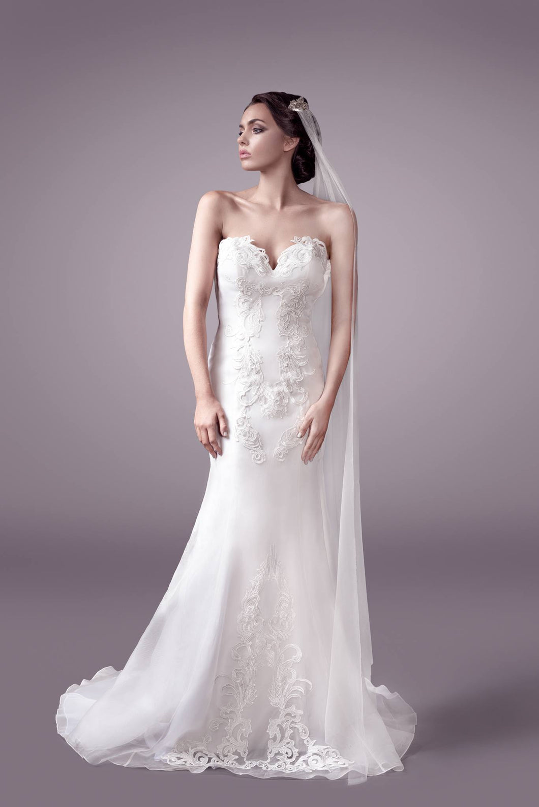 Elsa wedding dress bridal gown Perth - 9323F