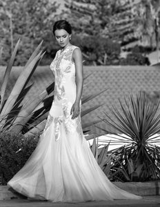 Elsa wedding dress bridal gown Perth - 9328S