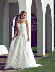 Florence wedding dress bridal gown Perth - 9329F2