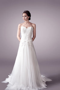 Florence wedding dress bridal gown Perth - 9329F