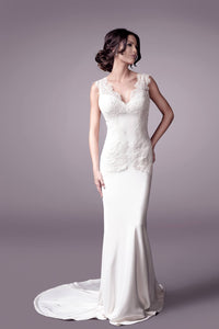 Jade wedding dress bridal gown Perth 9306 (F)