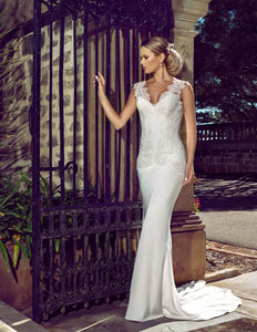 Jade wedding dress bridal gown Perth F2