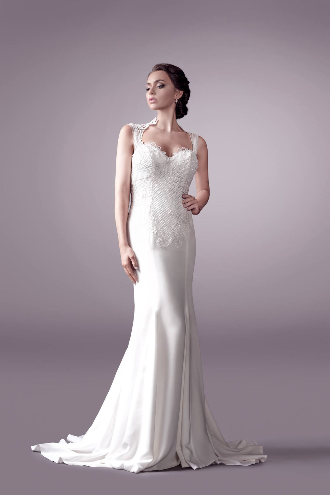Rosa wedding dress bridal gown Perth 9326 F
