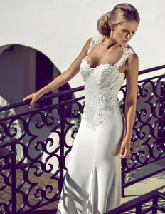 Rosa wedding dress bridal gown Perth F2