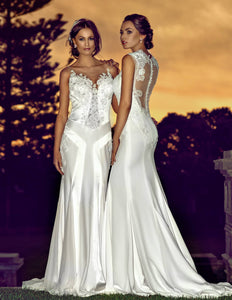 Rosa wedding dress bridal gown Perth F3